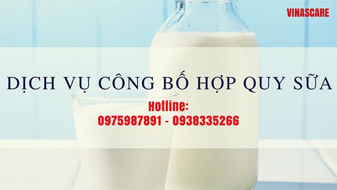 Công bố hợp quy sữa và các sản phẩm từ sữa doanh nghiệp nên biết (Ảnh Vinascare)