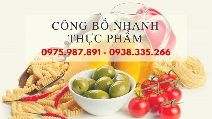 Dịch vụ công bố chất lượng thực phẩm nhanh chóng (Ảnh Vinascare)
