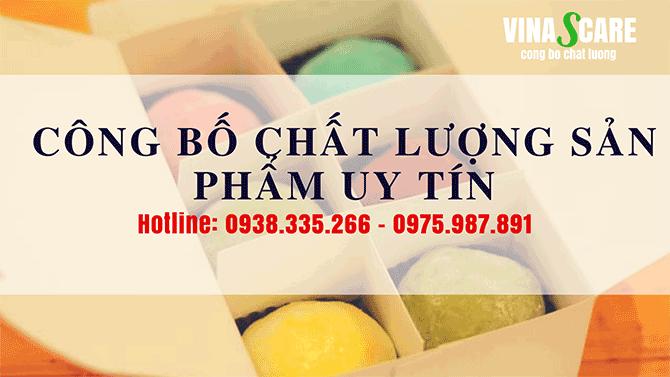 Dịch vụ công bố chất lượng nhanh chóng tại quận Gò Vấp (Ảnh Vinascare)