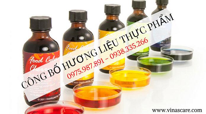 Thủ tục công bố tiêu chuẩn chất lượng hương liệu thực phẩm (Ảnh VinaSCare)
