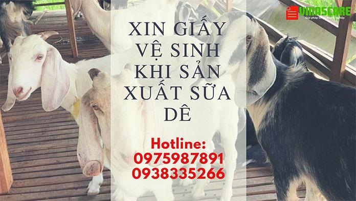 Dịch vụ xin vệ sinh sữa dê nhanh chóng tiết kiệm tại Hồ Chí Minh (Ảnh Vinascare)