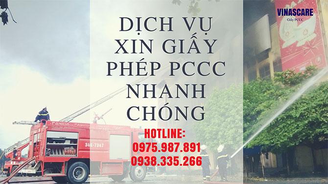 Hồ sơ thủ tục xin cấp giấy chứng nhận phòng cháy chữa cháy như thế nào? (Ảnh Vinascare)