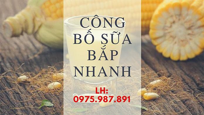 Dịch vụ công bố chất lượng sữa bắp nhanh chóng (Ảnh Vinascare)