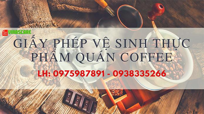 Giấy phép an toàn vệ sinh thực phẩm cho quán cafe tại Gò Vấp (Ảnh Vinascare)