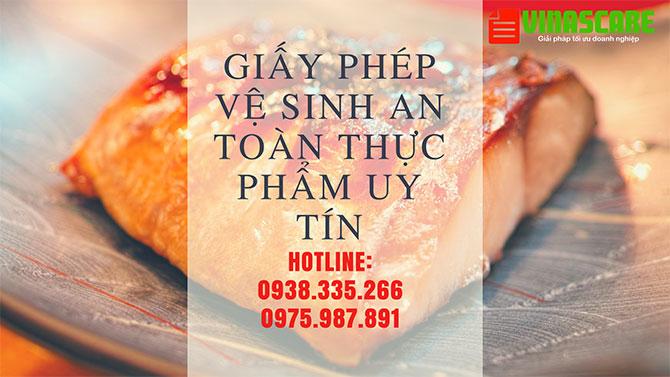 Hướng dẫn xin giấy phép vệ sinh an toàn thực phẩm tại Tp.HCM (Ảnh Vinascare)